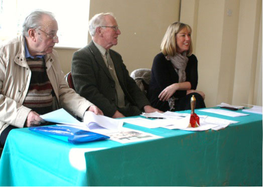 Photo at the Basset Hound Owners Club 2011 AGM