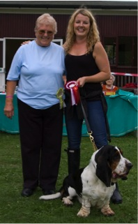 Major Tom & Victoria Melody with our Fun Day judge